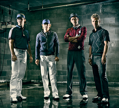 Golfers sporting what to wear when golfing