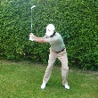 An example of the draw downswing