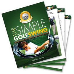 simple golf swing program cover