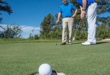 how to lag putt